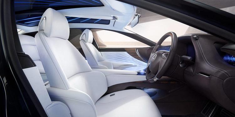 Lexus fabricará coches propulsados por hidrógeno