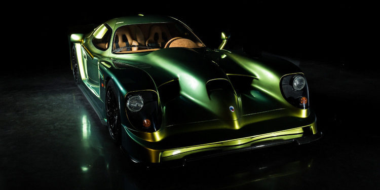 Panoz Esperante Road Car restaurado para el Dubai International Motor Show