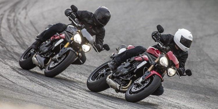 Nuevas Triumph Speed Triple S y Speed Triple R