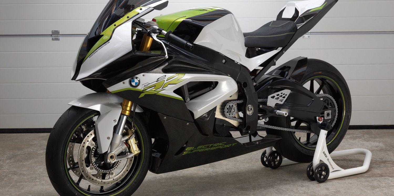 Imágenes de la deportiva eléctrica BMW Motorrad eRR