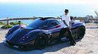 Lewis Hamilton estrella su Pagani Zonda 760 LH en Monaco