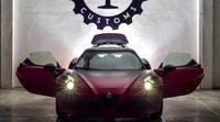 Estridente Alfa Romeo 4C La Furiosa de Garage Italia Customs