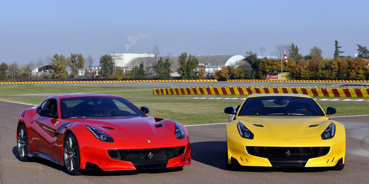 Prueba del Ferrari F12tdf de 780 CV en Maranello