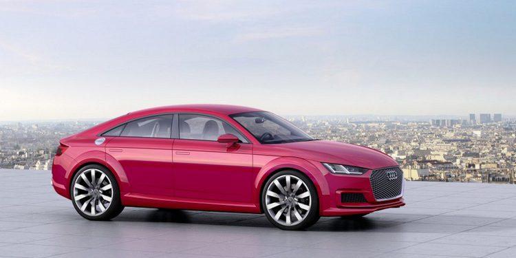 Audi presentará el TT Sportback definitivo este mes