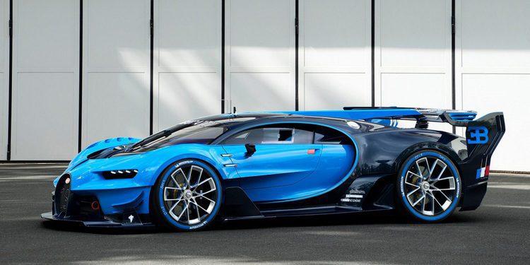 Aparecen más imágenes del prototipo del Bugatti Chiron