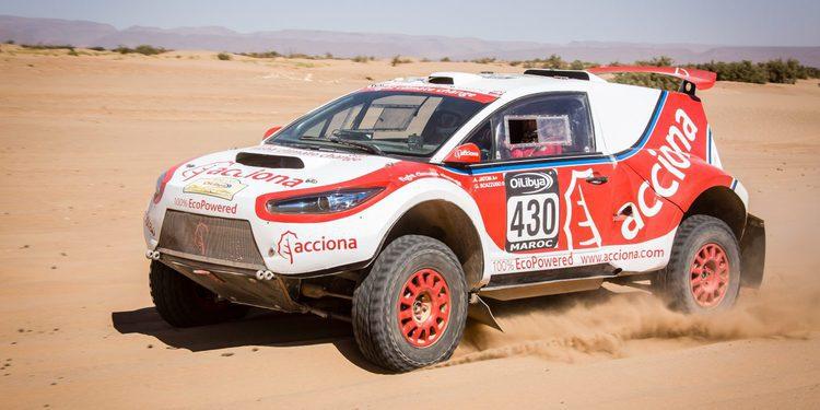 Acciona vuelve a la carga en el Dakar