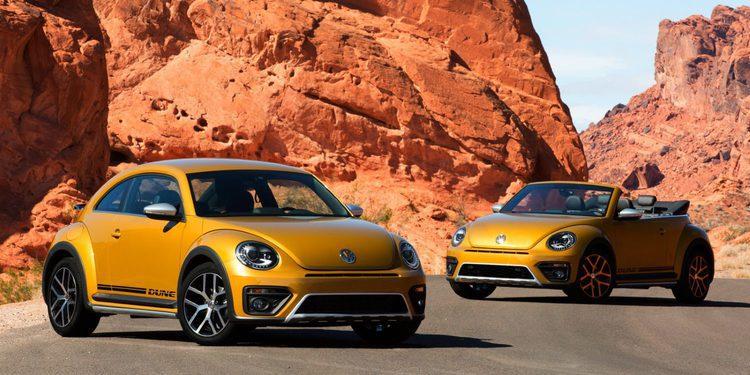 Volkswagen resucita los Baja Bug con el Beetle Dune