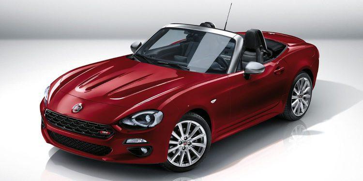 Fiat desvela la versión europea del nuevo 124 Spider