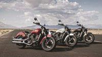 Nueva Indian Motorcycle Scout Sixty, versión de acceso
