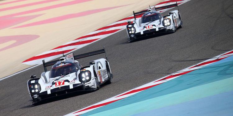 Pole de Porsche en Bahrein, que hace pleno en la temporada 2015 del WEC