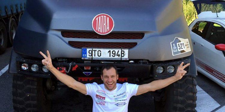 Albert Llovera, al Dakar en camión