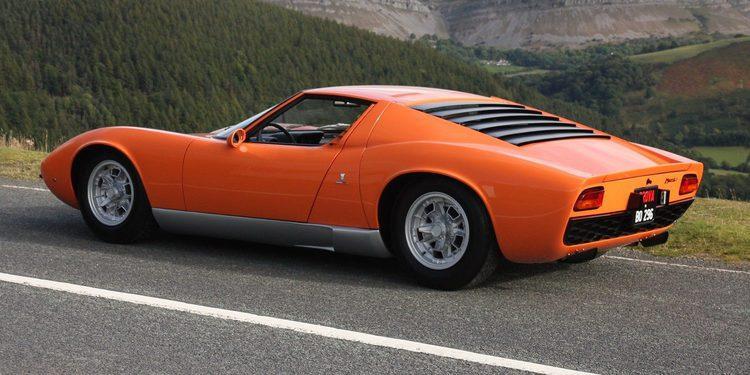 El Lamborghini Miura de The Italian Job a la venta