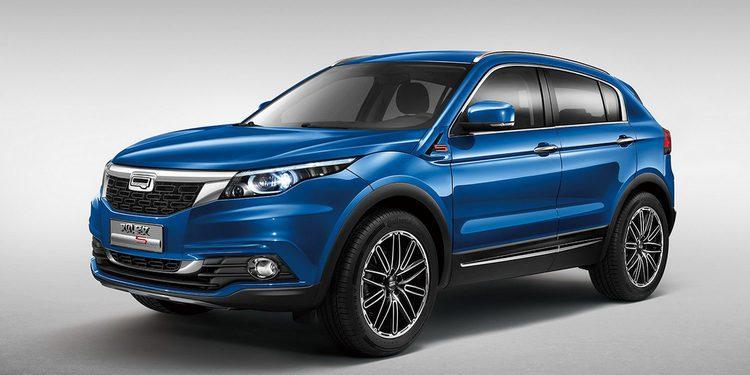 Qoros lanza oficialmente 5 SUV en el Salón de Guangzhou