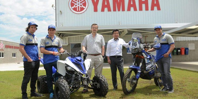 Yamaha Argentina, al Dakar 2016 con los Patronelli y Paco Gómez
