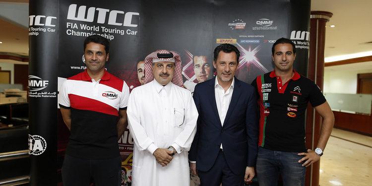 Nasser Al-Attiyah prueba un WTCC por primera vez