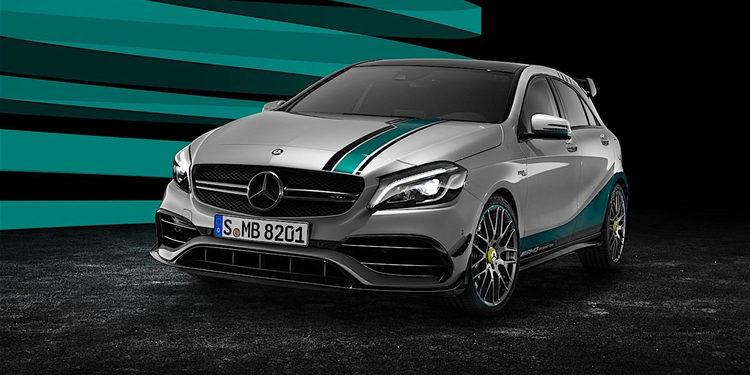 Mercedes lanza el A45 AMG Special Edition celebrando el título de F1