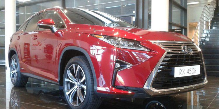Presentación del nuevo Lexus RX 450h SUV híbrido