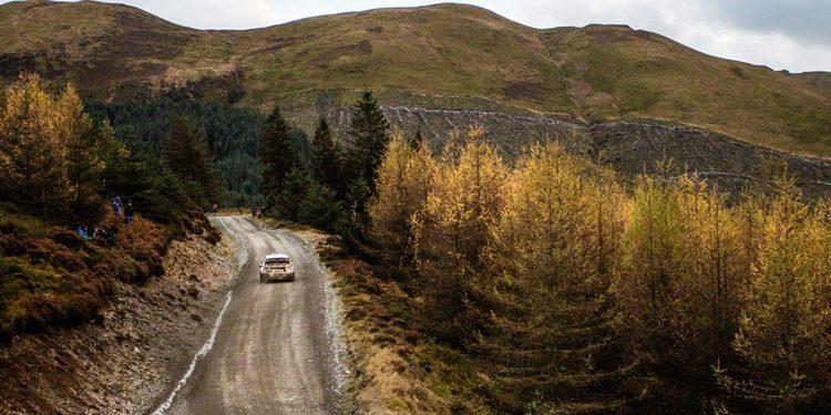 Impresionantes y exclusivas imágenes del Rallye de Gales 2015