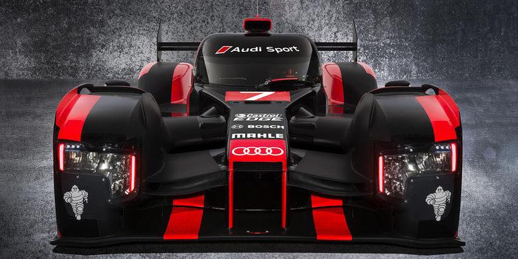 Presentado el Audi R18 LMP1 para el WEC 2016