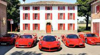 El Top 5 de los superdeportivos Ferrari de edición limitada en circuito