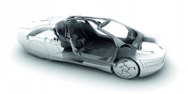 Volkswagen XL1, la técnica que obró el milagro