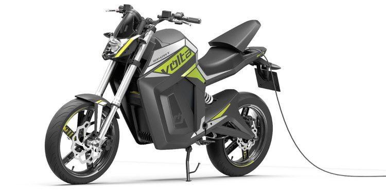 La nueva gama eléctrica Volta Motorbikes 2015