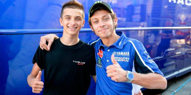 El equipo Forward Racing ficha a Luca Marini