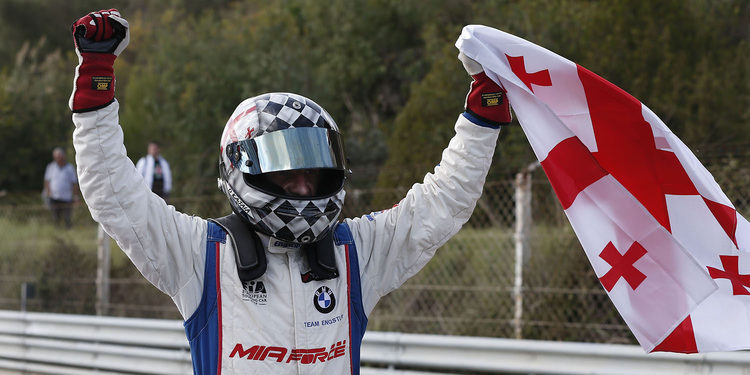 Davit Kajaia a las TCR Series con Engstler Motorsport