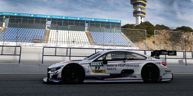 BMW completa sus tres días de test en Jerez