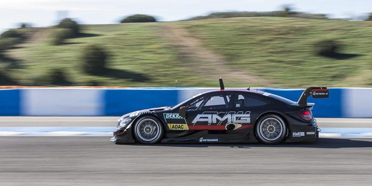 Los rookies de Mercedes deseando repetir un test en el DTM