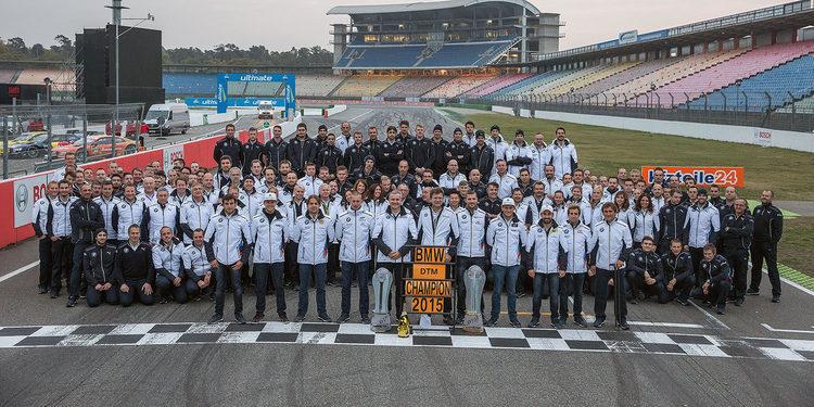 BMW no realiza cambios en su alineación para el DTM 2016