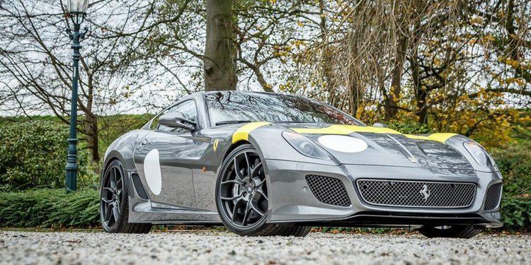 Un Ferrari 599 GTO muy especial con apenas kilómetros