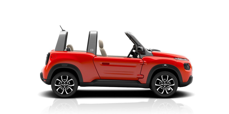 Citroën desvela el nuevo E-Mehari eléctrico, a la venta en 2016
