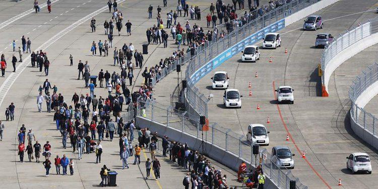 El récord mundial establecido en el Berlín ePrix