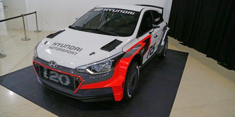 Hyundai presenta su i20 R5