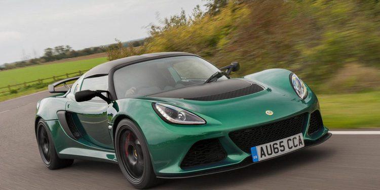 Lotus presenta el más ligero y potente Exige Sport 350 2016