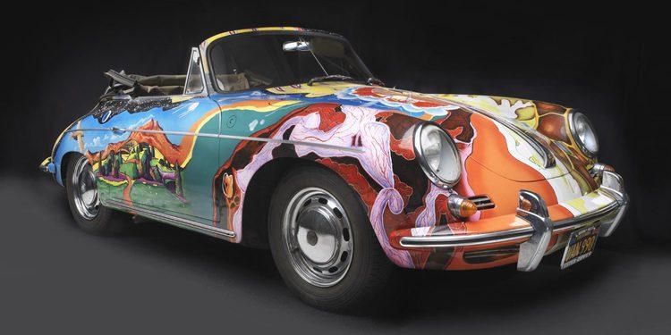 El Porsche de Janis Joplin rompe todos los registros anteriores