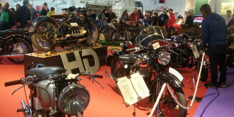 Autoretro Barcelona 2015: motocicletas clásicas
