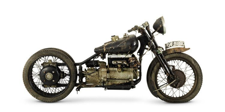 Bonhams subasta colección descubierta de las raras motos Brough Superior