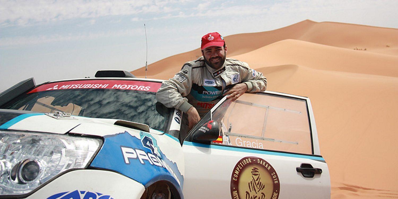"""Entrevista. Rubén Gracia: """"Que Mitsubishi España vuelva al Dakar es un lujo para nosotros"""""""