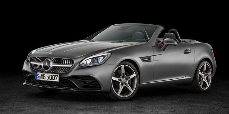 Mercedes-Benz SLC roadster, revelado el sustituto del SLK