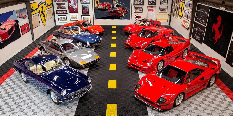 Parte de la colección Ferrari de Tony Shooshani a subasta en Scottsdale
