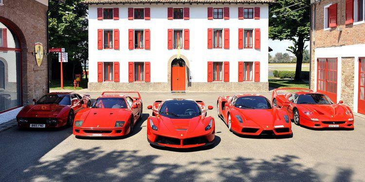 Segunda parte del vídeo Ferrari Top 5 en circuito