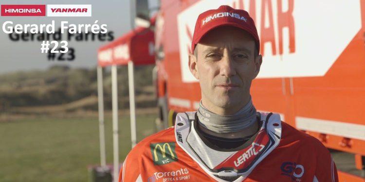 """Entrevista. Gerard Farrés aspira al top 5: """"Hay que tener objetivos ambiciosos"""""""