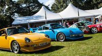 Porsche Classics at the Castle 2015: las últimas generaciones