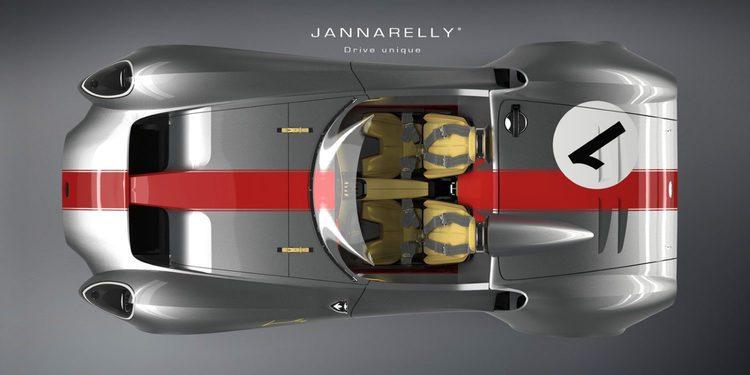 Nace un nuevo deportivo de gusto retro, el Design-1 de Jannarelly Automotive