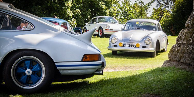 Porsche Classics at the castle 2015: Los clásicos