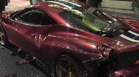 Un Ferrari 458 Speciale menos. Vehículos, alcohol y drogas nunca combinan bien