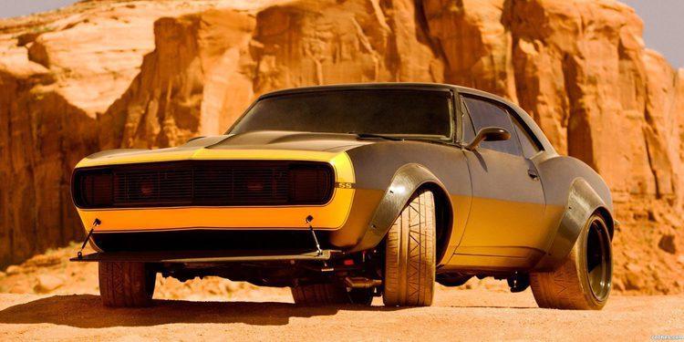 A la venta el Chevrolet Camaro 1969 Bumblebee de Transformers