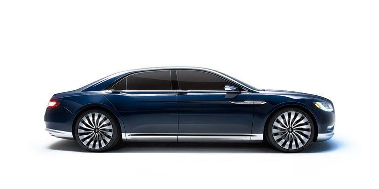 Se filtra la primera imagen del nuevo Lincoln Continental 2017